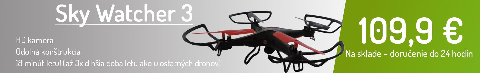Sky Watcher 3 - RC dron, HD kamera, na sklade