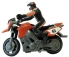 RC mini motorka 1:43, oranžová
