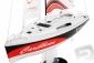 RC plachetnica Carribean, červená