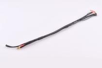 2S černý nabíjecí kabel - krátky - (4/5mm, 3-pin EH)