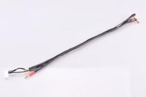 2S čierny nabíjací kábel - krátky - (4/5mm, 7-pin PQ)