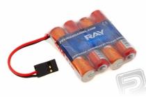 4.8V 800 AAA RAY Long RX 4čl. prijímačový (plochý)