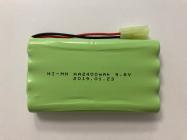 Aku pack 2400 mAh 9,6V NiMH micro tamiya