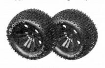 6528 Súprava pneumatík pre Truggy