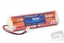 7.2V 2000AA Long RAY TX 6čl. vys. OPTIC Sport