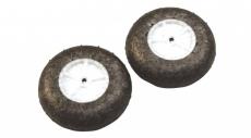 733189 Ultra ľahké koleso FUNCUB 54mm, hriadeľ 2,6mm (pár)