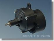 """8101 Prevodovka """"480"""" STD 3,5:1, pastorok otvor pr. 3,2 mm"""