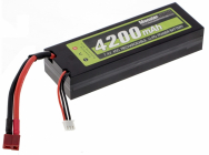AKU 7,4V/4200mah 45C T-plug Hardcase LiPo