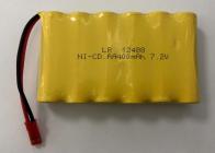 Akumulátor 7,2 V 400 mAh Ni-Cd