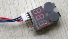 Alarm nízkeho napätia LiPol akumulátorov