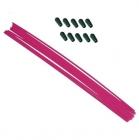 Anténové trubičky RC AUTA 10 ks. - ružové