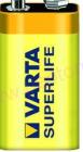 Batéria VARTA Superlife fólia 9V
