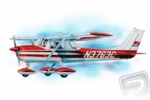 Cessna 150 (610mm) laser.vyrezávaná