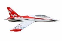 Dolphin Jet (2 000 mm) TR pre 8-12kg turbínu (červeno/biela)