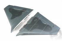 F-35 šedý - krídla