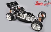 FG Leopard 2020 Competition Buggy, 2WD, číra karoséria, centrálna hydr. brzda