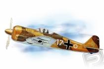 Focke-Wulf FW-190 (654mm) laser.vyrezávaný