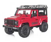 FUNTEK RAID 1/16 RTR 4WD, červená