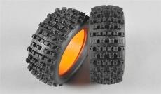 GRP 1:6 Buldog gumy s vložkami, zmes X/Extra soft, 2ks