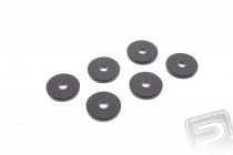 Gumové podložky - priemer 14mm hrúbka 3mm (10ks)