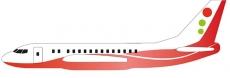 Hádzadlo Siva Air 571, červená