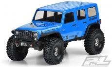 Jeep Wrangler číra karoséria pre TRX-4 Traxxas podvozok