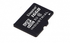 Kingston microSDHC 16GB UHS-I (90R/45W) Industrial Temp Card