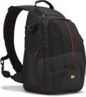 Klasický jednoramenný batoh (čierny)