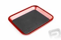 Kovová magnetická podložka červená