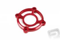 Kovový kryt ventilátora červený (1 ks)
