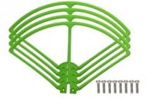 Syma X8C-04G kryty rotorových listov, zelená