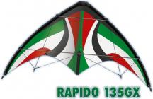 Lietajúci šarkan RAPIDO 135 GX