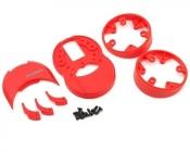 M12/M12S plastové diely (červené)