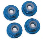 Matice s přír. samojistná hliník modrá M5 (4)