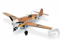 Messerschmitt BF-109 1400mm ARF (hnedý)