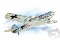 Messerschmitt Bf-109 (619mm) laser.vyrezávaný