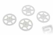 Mini Q4 - hlavné ozubené koleso, 4 ks.