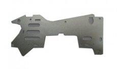 MJX T640C-24 pravý hliníkový rám - spodný