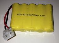 Náhradný akumulátor 6V 700 mAh, biely konektor