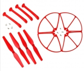 Set pro Syma X8C, X8G, X8W, červená