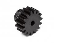 Pastorok 15 zubov (modul 1M) pre 3mm hriadeľ