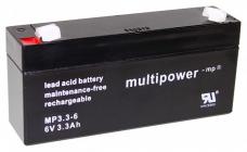 Pb akumulátor MULTIPOWER 6 V/3,2 Ah