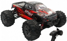 RC auto 9135X Spirit monster, červená