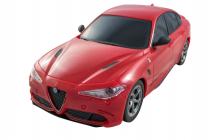 RC auto Alfa Romeo Giulia Quadrifoglio, červená