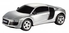 RC auto Audi R8, strieborná