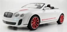 RC auto Bentley Cabrio, biela