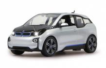 RC auto BMW I3, strieborná