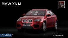 RC auto BMW X6 1:14, červená