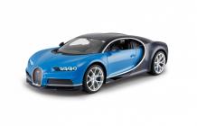 RC auto Bugatti Chiron, modrá