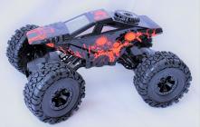 RC auto Crawler 4WD RTR, červenočierna